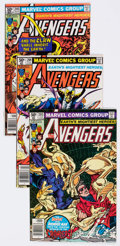 Modern Age (1980-Present):Superhero, The Avengers Small Box Group (Marvel, 1980-86) Condition:Average VF+....