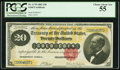 Large Size:Gold Certificates, Fr. 1178 $20 1882 Gold Certificate PCGS Choice About New 55.. ...
