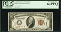 Small Size:World War II Emergency Notes, Fr. 2303* $10 1934A Hawaii Federal Reserve Note. PCGS Very ChoiceNew 64PPQ.. ...