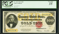 Large Size:Gold Certificates, Fr. 1215 $100 1922 Gold Certificate PCGS Very Fine 35.. ...