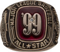 Baseball Collectibles:Others, 1999 Major League Baseball All-Star Game Ring. . ...