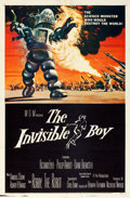 "Movie Posters:Science Fiction, The Invisible Boy (MGM, 1957). One Sheet (27"" X 41"") Reynold BrownArtwork.. ..."
