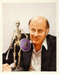 "Movie Posters:Fantasy, Ray Harryhausen by David Voigt (1999). Signed Original Mixed MediaCover Artwork for Cinefantastique (17.75"" X 22"").. ..."