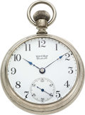 "Timepieces:Pocket (pre 1900) , Webb C. Ball, Rare Early ""Ball's Standard Superior Grade"" SerialNumber 611. ..."