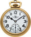 Timepieces:Pocket (post 1900), Hamilton Grade 998 23 Jewel Elinvar Official Standard. ...