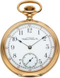 "Timepieces:Pocket (pre 1900) , Waltham 14k Gold Model 88 ""Tennyson"". ..."