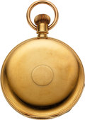 Timepieces:Pocket (pre 1900) , New York Watch Co. 18k Gold H. G. Norton Springfield Mass.. ...