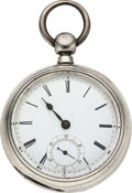 Timepieces:Pocket (pre 1900) , Western Watch Co. Chicago 18 Size Key Wind. ...