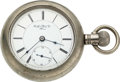 Timepieces:Pocket (pre 1900) , Rockford Movement No. 34, Early 19 Jewel 18 Size Transitional . ...