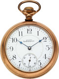Timepieces:Pocket (pre 1900) , Waltham Model 92 D.& R.G. Special 21 Jewel. ...