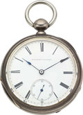 Timepieces:Pocket (pre 1900) , E. Howard & Co. Series III No. 9248, Original Silver E.H. &Co. Case. ...