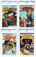 Bronze Age (1970-1979):Miscellaneous, The Shadow CGC-Graded Group of 4 (DC, 1974-75).... (Total: 4 ComicBooks)
