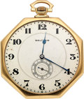 Timepieces:Pocket (post 1900), Waltham 14k Gold Opera Watch. ...