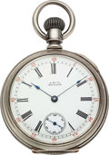 Timepieces:Pocket (pre 1900) , Waltham Excelsior No. 2 for Howard & Co. Fifth Ave. N.Y.. ...