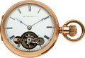 Timepieces:Pocket (pre 1900) , New York Watch Co. Prototype Double Dial With Day/Date/VisibleEscapement. ...