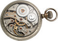 Timepieces:Pocket (post 1900), Hamilton Rare 23 Jewel Grade 960 Prototype. ...