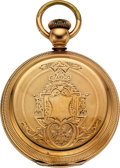 Timepieces:Pocket (pre 1900) , Independent Watch Co. Fredonia N.Y. Mark Twain 18 Size. ...
