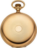 Timepieces:Pocket (pre 1900) , Waltham 14k Gold 19 Jewel Model 88 American Watch Co.. ...
