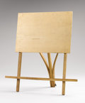 Texas:Early Texas Art - Impressionists, FRANK REAUGH (1860-1945). Frank Reaugh Portable Lap Easel,1928. Wood. 19 x 18 inches (48.3 x 45.7 cm) (folded). Stamped...