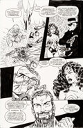 Original Comic Art:Panel Pages, John Byrne Wonder Woman V2#108 Story Page Original Art (DC,1996)....