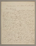 Military & Patriotic:Civil War, P. G. T. BEAUREGARD AUTOGRAPH LETTER SIGNED TO GENERAL J. E. JOHNSTON, 1861....