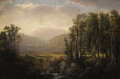 Paintings, WILLIAM LOUIS SONNTAG (American 1822-1900). Adirondack Mountain Landscape. Oil on canvas. 20 x 30 inches (50.8 x 76.2 cm...