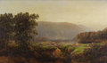 Paintings, WILLIAM LOUIS SONNTAG (American 1822-1900). View of the White Mountains, 1866. Oil on canvas laid on cradled masonite pa...
