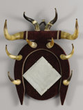 Texas, UNKNOWN MAKER. Longhorn Mirror, early 1900s. 34 x 25 x 8inches (86.4 x 63.5 x 20.3 cm). Unsigned. ...
