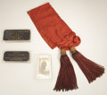 Military & Patriotic:Civil War, A Sash Presented to Colonel Elias Peissner - Killed At Chancellorsville Elias Peissner was a professor of Modern Languages ...