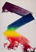 Prints:Contemporary, Paul Jenkins (1923-2012). Untitled II, 1983. Lithograph incolors on paper. 35-1/2 x 24-3/4 inches (...