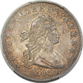 Early Half Dollars, 1802 50C O-101, T-1, R.3, AU55 PCGS. CAC....