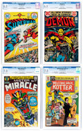 Bronze Age (1970-1979):Miscellaneous, DC Bronze Age Comics CGC-Graded Group of 4 (DC, 1971-76)....(Total: 4 Comic Books)