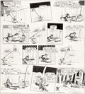 Original Comic Art:Comic Strip Art, George Herriman Krazy Kat Sunday Comic Strip Original Art dated 5-27-34 (King Features Syndicate, 1934)....