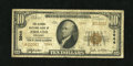 National Bank Notes:Kentucky, Ashland, KY - $10 1929 Ty. 2 The Second NB Ch. # 3944. Type 2s areoutnumbered by over three to one by Type 1s on this b...