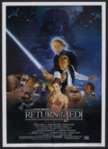 "Movie Posters:Science Fiction, Return of the Jedi (20th Century Fox, 1983). One Sheet (27"" X 41"")Style B. Science Fiction Adventure. Starring Mark Hamill,..."