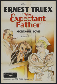 """The Expectant Father (Fox Film Corporation, 1930s). One Sheet (27"""" X 41""""). Comedy. Starring Montague Love and..."""