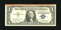 Error Notes:Major Errors, Fr. 1619 $1 1957 Silver Certificate. Very Fine.. The top of this $1Silver displays the highly unusual red end of roll marki...