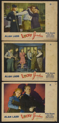"Movie Posters:War, Lucky Jordan (Paramount, 1942). Lobby Cards (3) (11"" X 14""). CrimeComedy. Starring Alan Ladd, Helen Walker, Mabel Paige, Sh...(Total: 3 Items)"