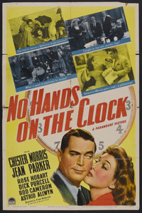 """No Hands on the Clock (Paramount, 1941). One Sheet (27"""" X 41"""") Style A. Mystery. Starring Chester Morris, Jean..."""
