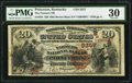 National Bank Notes:Kentucky, Princeton, KY - $20 1882 Brown Back Fr. 504 The Farmers NB Ch. #(S)5257. ...