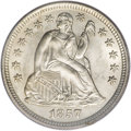 Seated Dimes, 1857-O 10C MS65 PCGS....