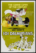 "Movie Posters:Animated, 101 Dalmatians (Buena Vista, R-1979). One Sheet (27"" X 41""). Animated...."