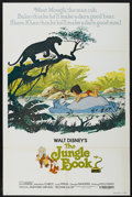 "Movie Posters:Animated, The Jungle Book (Buena Vista, R-1978). One Sheet (27"" X 41"").Animated...."