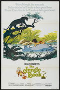 "Movie Posters:Animated, The Jungle Book (Buena Vista, R-1978). One Sheet (27"" X 41""). Animated...."