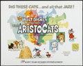 "Movie Posters:Animated, The Aristocats (Buena Vista, R-1973). Half Sheet (22"" X 28"").Animated. ..."