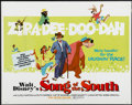 "Movie Posters:Animated, Song of the South (Buena Vista, R-1973). Half Sheet (22"" X 28"").Animated. ..."