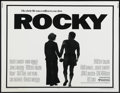 "Movie Posters:Sports, Rocky (United Artists, 1977). Half Sheet (22"" X 28""). Sports. ..."