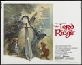 "Movie Posters:Animated, The Lord of the Rings (United Artists, 1978). Half Sheet (22"" X 28""). Animated. ..."