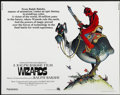 "Movie Posters:Animated, Wizards (20th Century Fox, 1977). Half Sheet (22"" X 28""). Animated...."