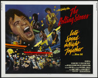 """Let's Spend the Night Together (Columbia, 1983). Half Sheet (22"""" X 28""""). Rock and Roll"""